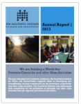AIPR Annual Report 2013